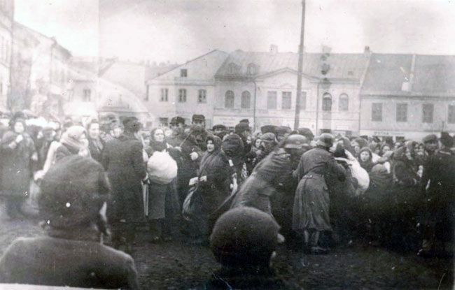 The deportations of Jews from Lublin, Poland began on 17 March 1942, and by April, some 30,000 Jews had been deported.  Most of the deportees were murdered in Belzec, the remainder in the forests surrounding Lublin.