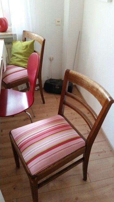 DIY Stuhl Neu Beziehen