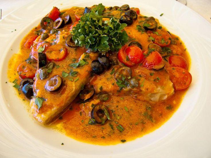 pesce spada con olive