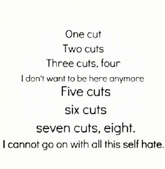 Sad Quotes About Depression: 1000+ Images About Self Hate On Pinterest