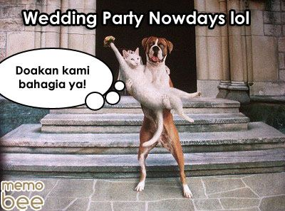 wedding party nowdays
