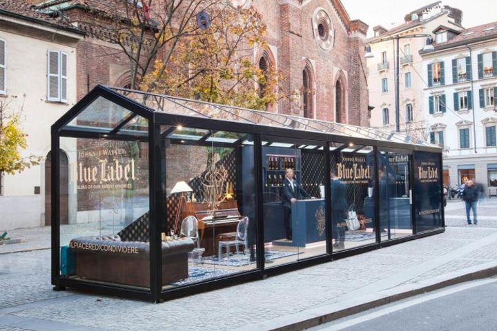 Johnnie Walker Blue store, Milan – Italy (Retail Design Blog)