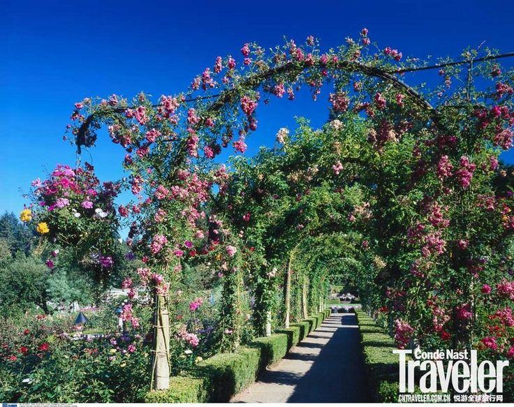加拿大布查特花园 尽显精湛园艺_艺术文化_主题行-悦游全球旅行网 #布查特花园