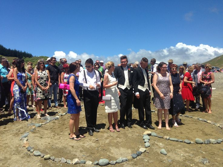Another amazing Same Sex Wedding in cable Bay near Nelson with the Dream Maker New Zealand Destination Weddings & Events. www.thedreammaker.co.nz