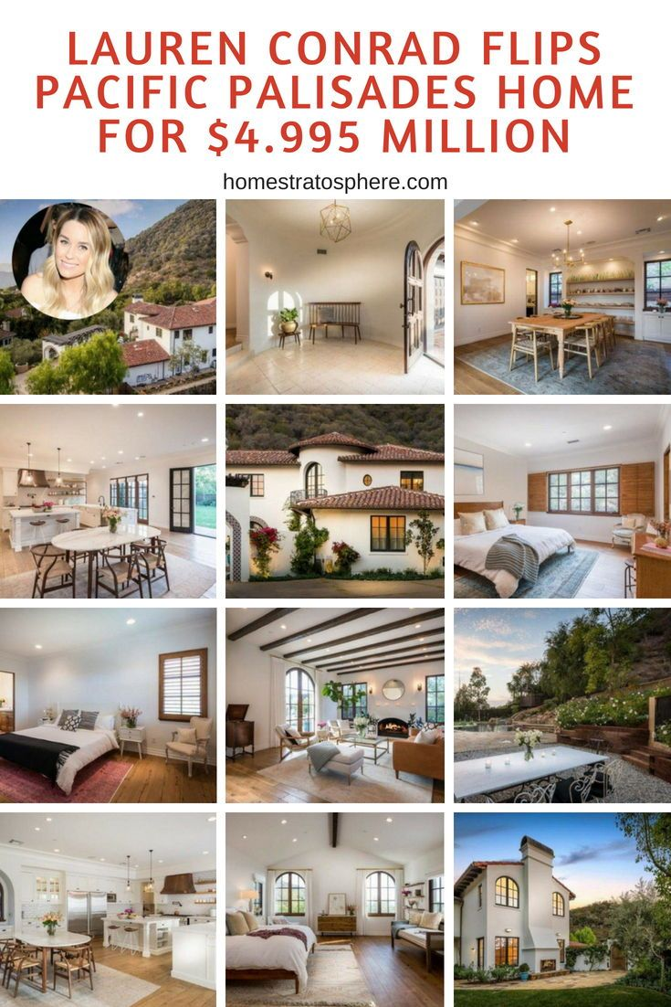 Lauren Conrad Flips Pacific Palisades Home For 4 995 Million