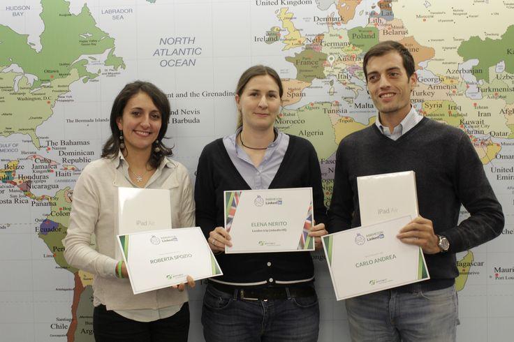 Premiati i vincitori del contest LinkedIn, #BeAmbassador in Elmec, per i migliori e più attivi profili su LinkedIn.