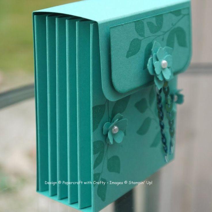 Tea Caddy Concertina Box