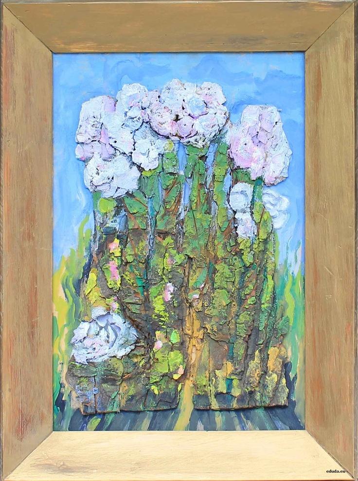 """""""Hortensje"""" / """"Hydrangeas"""" 34x51 cm"""