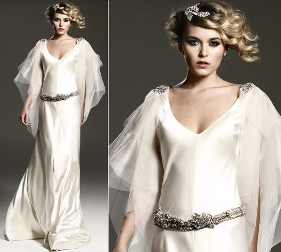 1920s Wedding Dress || Caroline