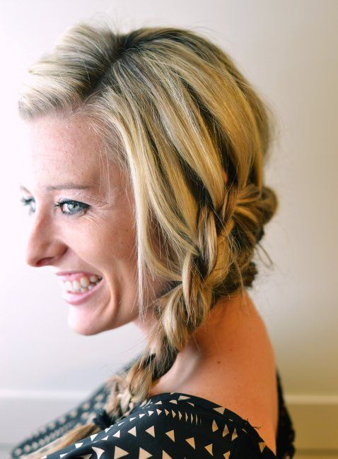 How To: Wrap Around Braid ~ The Shine Project