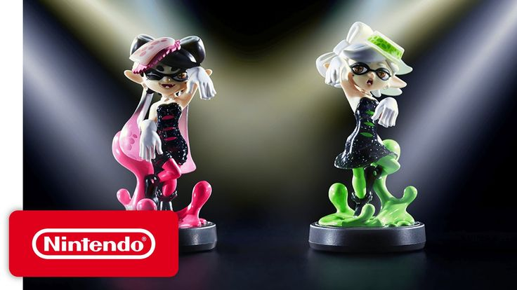Splatoon - Squid Sisters - New amiibo - YouTube