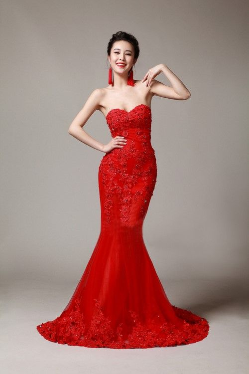 Red Dresses Chic Trend For The Most Beautiful Women