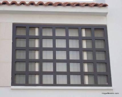 Image result for rejas para ventanas en hierro forjado