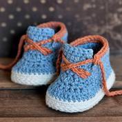 Compre estilo sapatinhos de bebê crochet padrão Timberland - Allcrochetpatterns.net