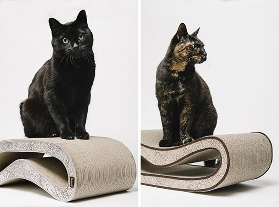 50 best modern cat scratchers images on pinterest cat scratcher cat furniture and cat stuff - Modern cat scratcher ...