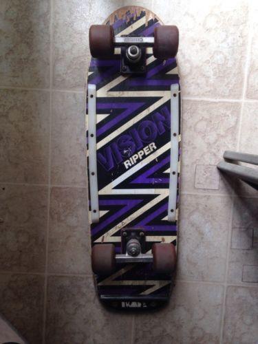 "Original 1980s Vision Street Wear ""Shredder"" Model Vision Skateboard Complete in Sporting Goods, Outdoor Sports, Skateboarding & Longboarding   eBay"
