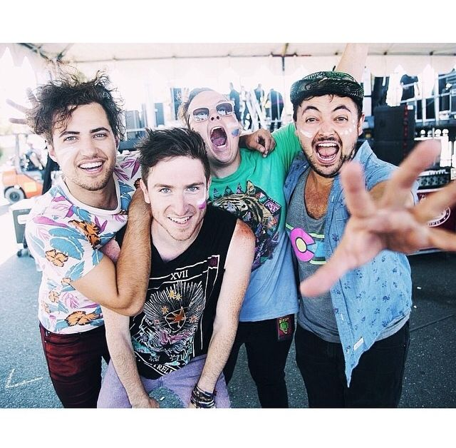 Walk The Moon. These guys are AMAZING live. Love them