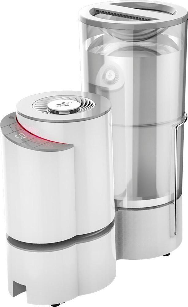 Vornado - 1 Gal. Warm/Cool Mist Humidifier - Ice (White)