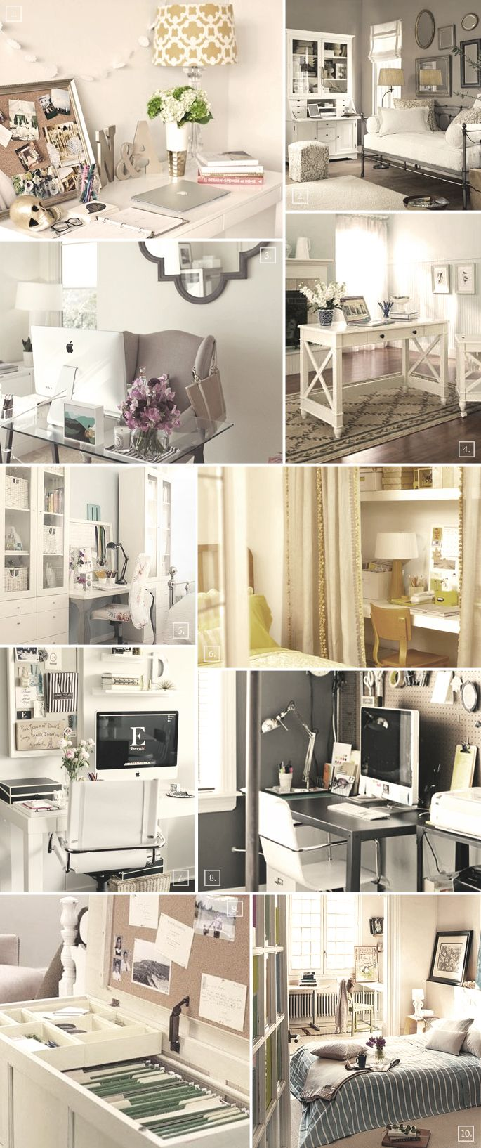 Miraculous 17 Best Ideas About Home Office Bedroom On Pinterest Small Largest Home Design Picture Inspirations Pitcheantrous