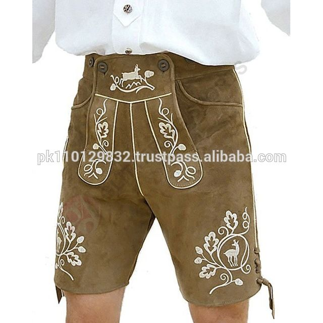 Source Bundhosen lederhosen,Oktoberfest trachten wear,Kurze lederhose,german hose,leather pants,shorts on m.alibaba.com