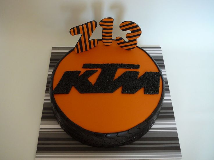 8 Best Images About Ktm Cakes On Pinterest Logos