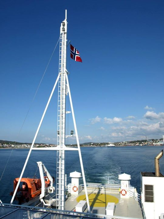 NORWAY / NORGE - on the way from Moss to Horten