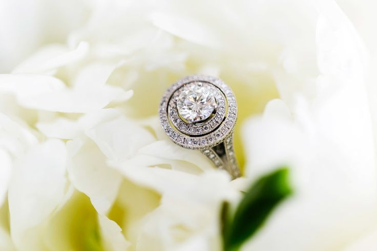 #EngagementRing - On SMP http://www.stylemepretty.com/australia-weddings/queensland-au/noosa-heads/2013/12/04/noosa-wedding-from-calli-b-photography-2 | Calli B Photography | OK - We need help on the 'style'. Double halo?