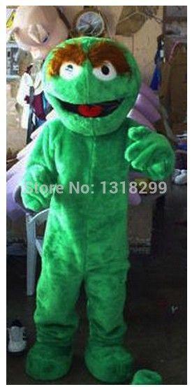 Талисмана парк улица сезам оскар костюм талисмана маскарадный костюм на необычные костюмы для косплея mascotte тема карнавальный костюм комплекты