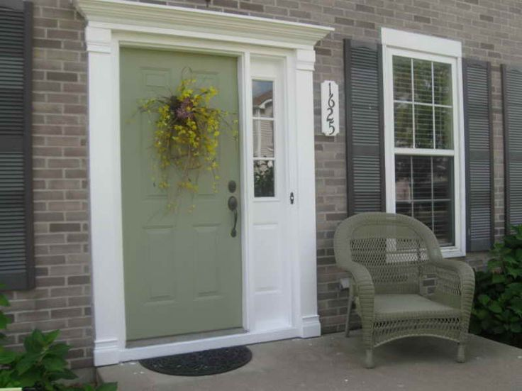 Painted Front Door Color Ideas Best 25 Colored front doors ideas