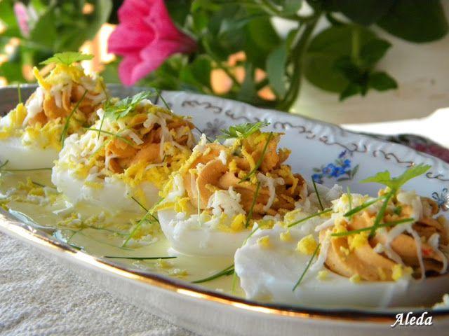 Aleda konyhája: Töltött tojás