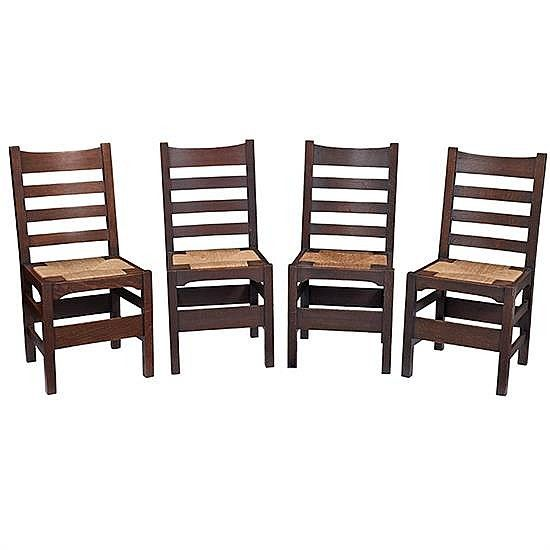U003cbu003eGustav Stickleyu003c/bu003e U003cbr /u003e Side Chairs,