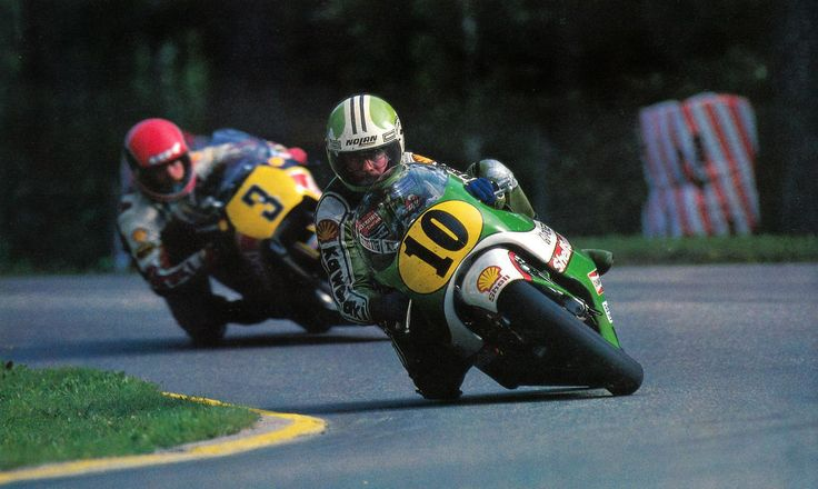 Kork Ballington and Mamola