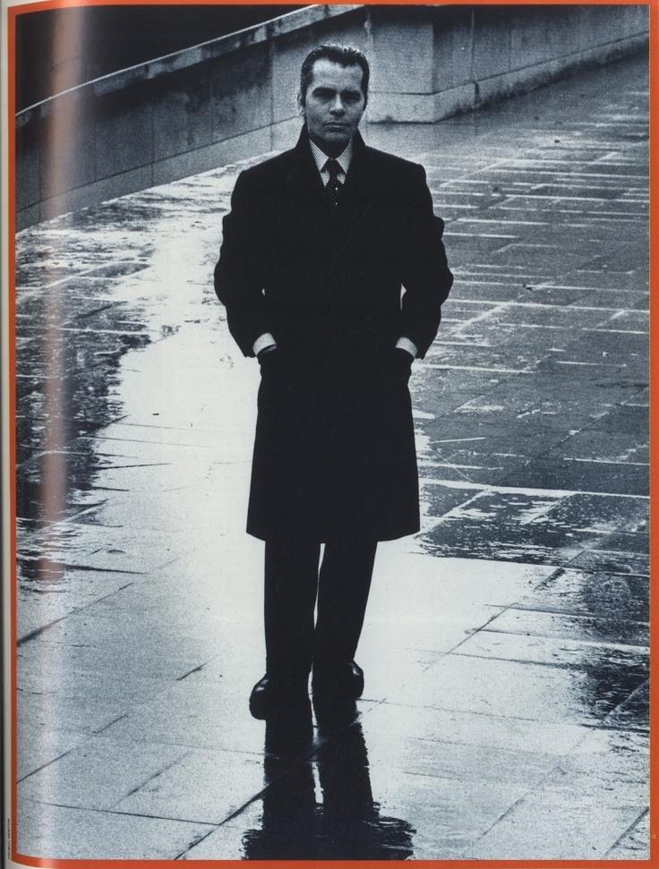1981 - Karl Lagerfeld by Helmut Newton 4 Chloe perfume ad  www.fashion.net