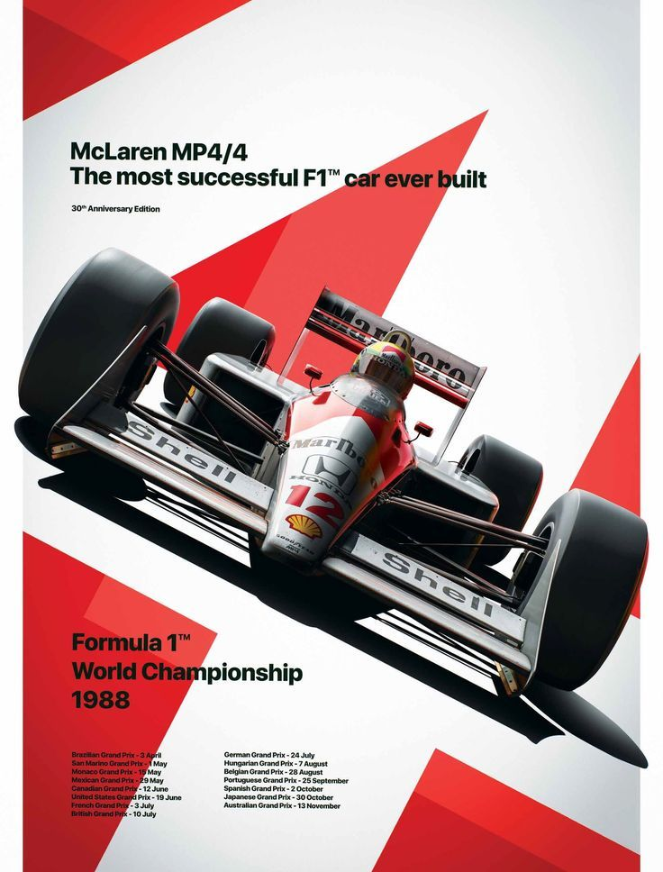 McLaren and Unique & Limited launch art print and poster to celebrate McLaren and …..
