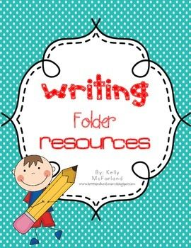 This set includes 11 pages to help set up your student writing folders. It includes:-Writer's Checklist-When I'm done Chart-Alphabet Chart-Helpful Words- Blank Mini Word Wall- 5 different Writing PagesCheck out my blog post to see pictures of how I used it in my student folders.