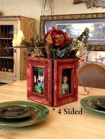 Custom Barnwood Frames - Together 4-Ever Hinged Frames, $49.00 (http://www.custombarnwoodframing.com/products/together-4-ever-hinged-frames.html)