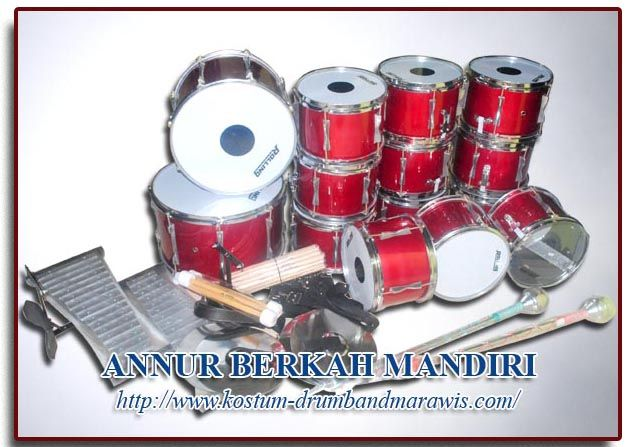 HARGA ALAT DRUM BAND TK SUPER QTY ( 30 ALAT)