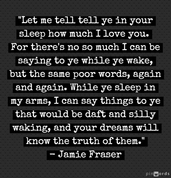 Dragonfly in Amber. Note to husband: talk Jamie to me like this. Please. ;) <------ I didn't write that but OMG I laughed so hard.  Have to keep it. - TS