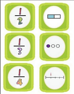 Fraction Concentration: Classroom Math, Schools Math, Memories Games, Fractions Memories, Fractions Concentration, Fractions Games, Math Ideas, Fractions Freebies, Concentration Games