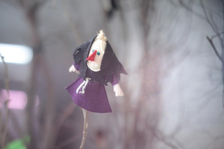 the wicked witch on twig