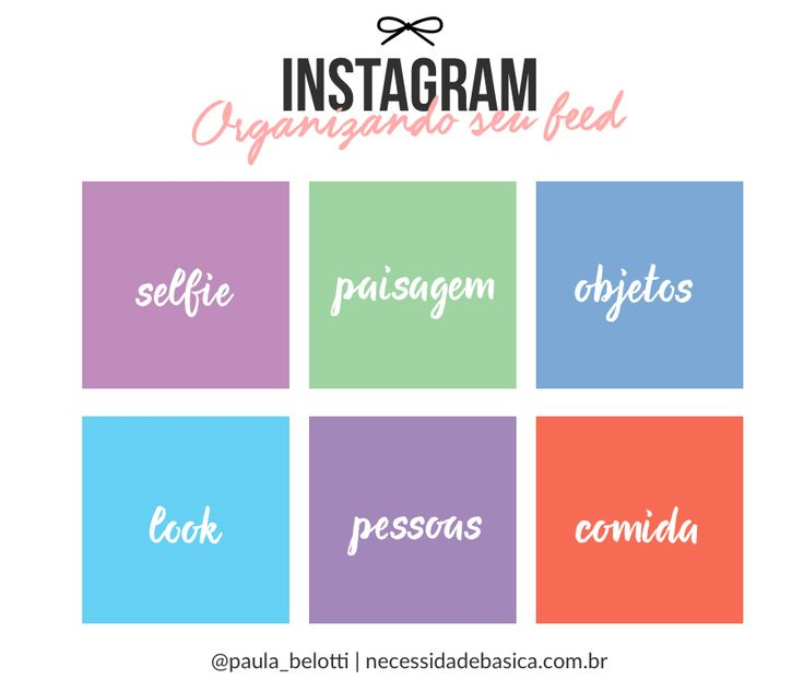 Se você quer organizar seu feed do Instagram dá uma olhada nas minhas dicas de apps e de como organizar melhor suas fotos