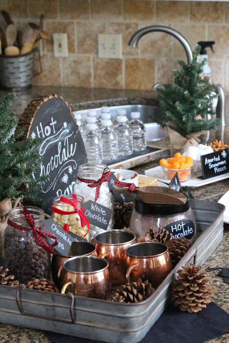 Rustic christmas party decor - Find This Pin And More On Rustic Christmas Ideas