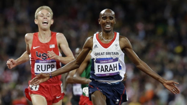 "Amazing finish. ""Farah wins 10,000 m"" - CBS News"