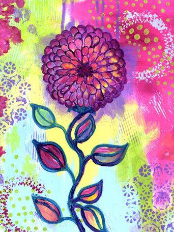 Oopsy Daisy Canvas Wall Art Beautiful Day by Jill Lambert, available at #polkadotpeacock. #peacocklove #oopsydaisyart
