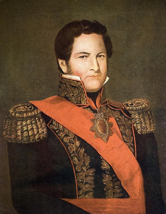 Guerras Civiles argentinas (Unitarios y Federales) Rosistas: Juan Manuel de Rosas-Governador de la Prov. de Buenos Aires Rgto....