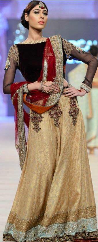 PFDC L'Oréal Paris Bridal Week 2014- Asifa & Nabeel