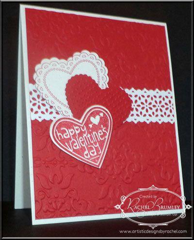 Hearts a Flutter, Valentine, Stampin' Up!