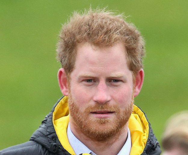 The Award-winner of Thoughtful Gazes with a Ginger Beard. | Prince Harry's Ginger Beard Deserves A Damn Award