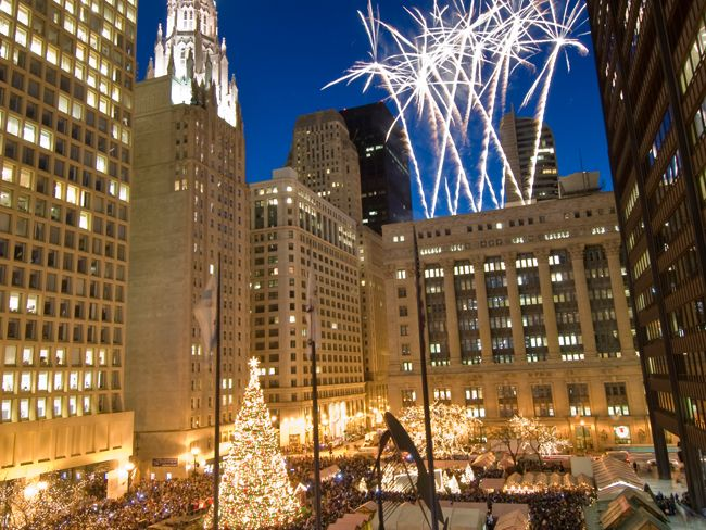 Chicago Calendar of Holiday and Winter Events 2017