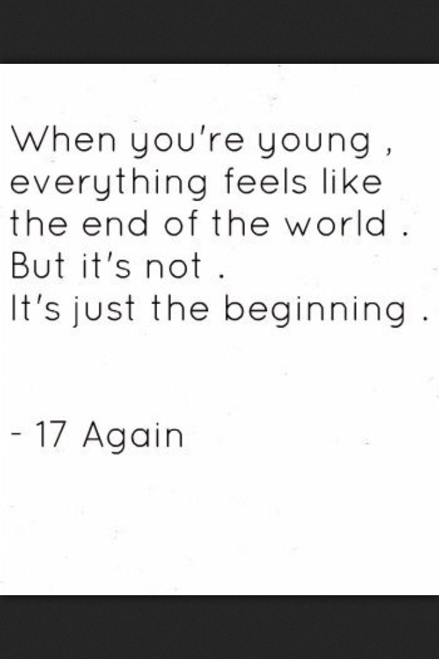zac efron 17 again quotes - photo #29